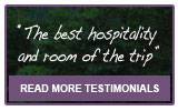 Testimonials about Burton's Sunset Oasis - Accommodation on the Cabot Trail